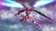 Cross Ange ep 23 Razor Destroyer Mode Full-body Extended Version