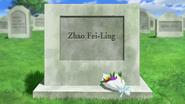 Cross Ange 11 Fei-Ling's grave