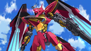 Cross Ange 13 Red Villkiss