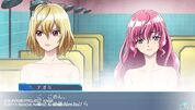 Naomi and Ange Gameplay scene in Cross Ange TR.