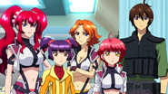 Cross Ange ep 20 The Libertus Crew Extended Version