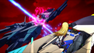 Cross Ange ep 2 Coco Killed by a Dragon Extended Version