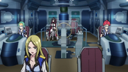 Cross Ange 13 Aurora control room