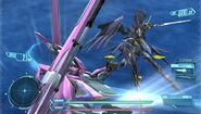 Glaive Naomi Custom vs Cleopatra in Cross Ange TR.