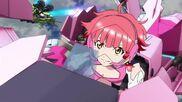Cross Ange ep 11 Vivian piloting Razor