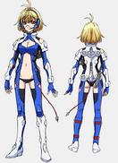 Ange Uniform Front Back