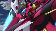 Cross Ange ep 21 Enryugo Destroyer Mode Close-up