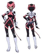 Tanya Uniform Front Back