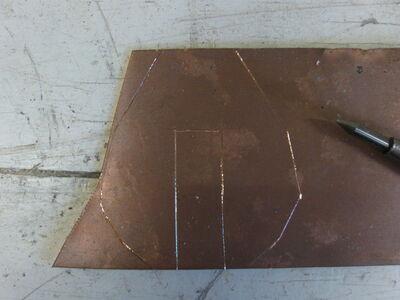 Metal fletching method 1-02