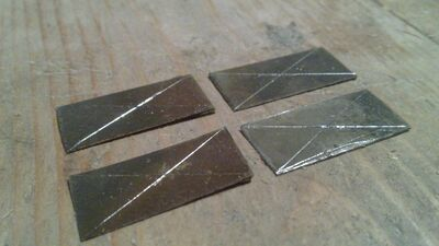 Making metal nock reinforcement - 01