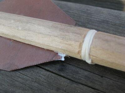 Metal fletching method 1-18