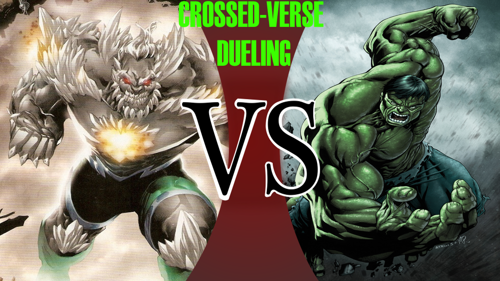 Doomsday VS Hulk | Crossed-Verse Dueling Wiki | FANDOM ...Doomsday Vs Hulk