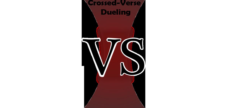 crossed verse dueling vs templatepng