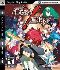 Cross Edge game cover (USA)