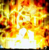 Natsu With Lightning Absorbed Anime