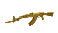 AK-47-Knife DMZ Gold