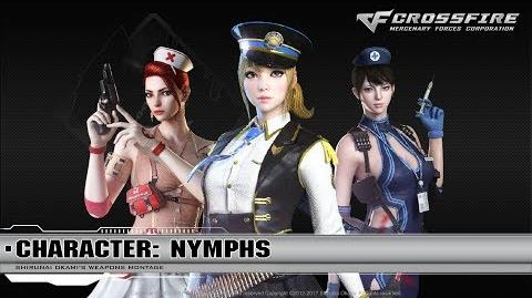 CrossFire Character Nymphs (VIP) ☆