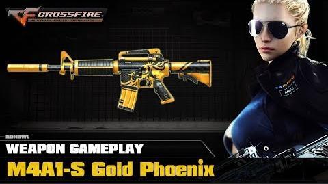 CrossFire VN - M4A1-S Gold Phoenix