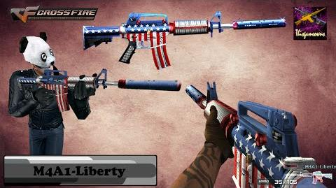 Cross Fire North America M4A1-Liberty Gameplay