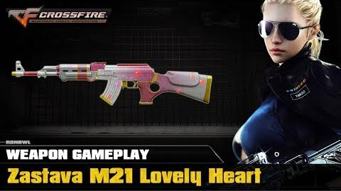 CrossFire VN - Zastava M21 Lovely Heart