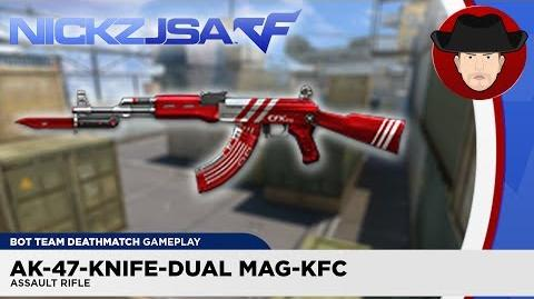 AK-47-Knife-Dual Mag-KFC CROSSFIRE China 2