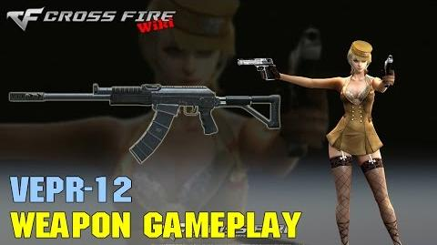 CrossFire - Vepr-12 - Weapon Gameplay