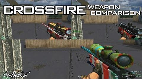 CrossFire AWM-New Xmas Candystripe (2014) Comparison