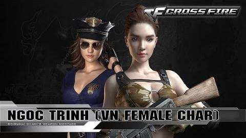 CrossFire Character - Ngọc Trinh ☆