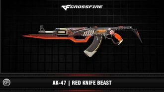 CF AK-47 Red Knife Beast
