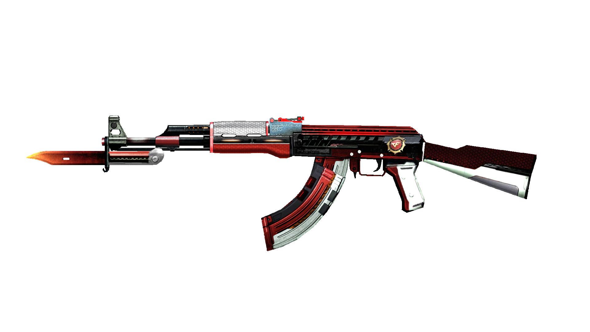 AK47-Knife Dual Mag Rank Match Red   Crossfire Wiki   FANDOM powered by  Wikia
