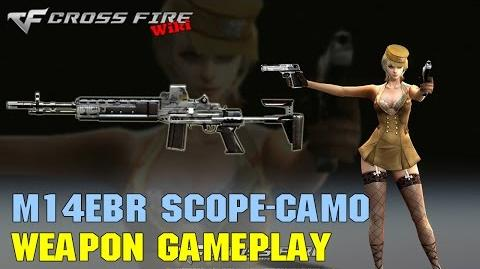 CrossFire - M14EBR Scope Camo - Weapon Gameplay