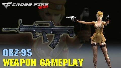 CrossFire - QBZ-95 - Weapon Gameplay