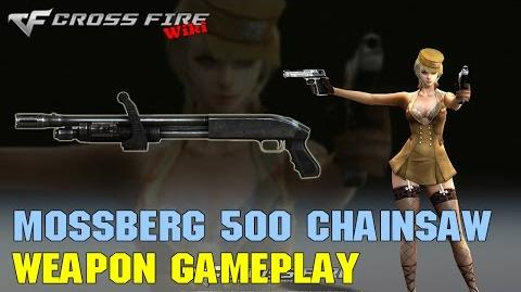 CrossFire - Mossberg 500 Chainsaw - Weapon Gameplay