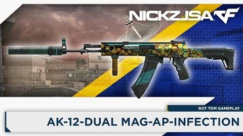 AK-12-S-Dual Mag-AP-Infection - CROSSFIRE China 2.0 EXP
