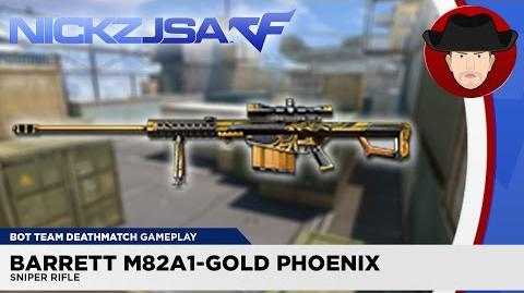 Barrett M82A1-Gold Phoenix CROSSFIRE China 2
