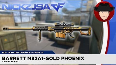 Barrett M82A1-Gold Phoenix CROSSFIRE China 2.0
