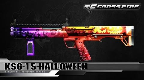 CrossFire China KSG-15-Halloween ☆