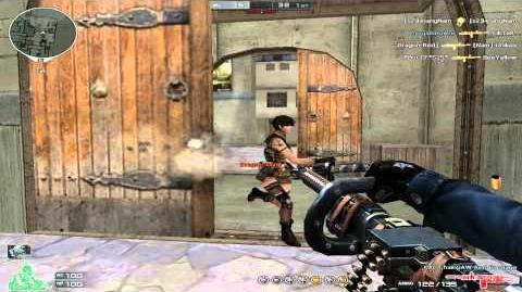 Cross Fire Vietnam (Đột Kích) KAC ChainSAW-Red Bandage Gameplay