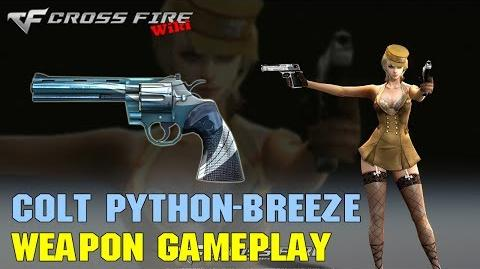 CrossFire - Colt Python-Breeze - Weapon Gameplay