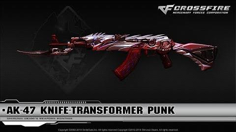 CrossFire China AK-47 Knife-Transformer Punk (VIP)