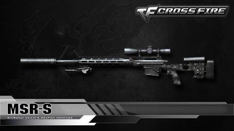 CrossFire Vietnam MSR-Silencer ☆