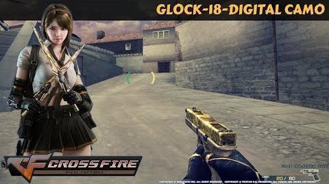 CrossFire Vietnam - Glock-18-Digital Camo