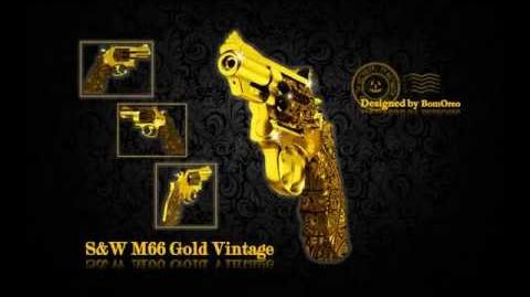 S&W M66 Gold Vintage by BomOreo