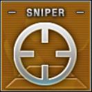 Sniper Badge Class A Level 3