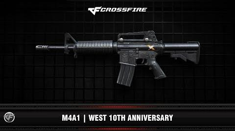 CF M4A1 West 10th Anniversary