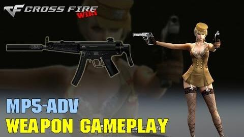 CrossFire - MP5 Adv - Weapon Gameplay