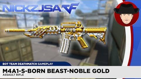 M4A1-S-Born Beast-Noble Gold CROSSFIRE China 2