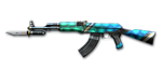 AK-47 KNIFE-TURTLE SHELL BI2