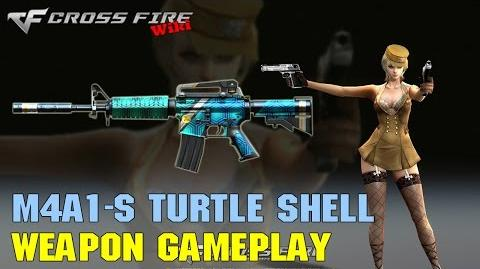 CrossFire - M4A1-S Turtle Shell - Weapon Gameplay