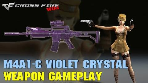CrossFire - M4A1 Custom Violet Crystal - Weapon Gameplay